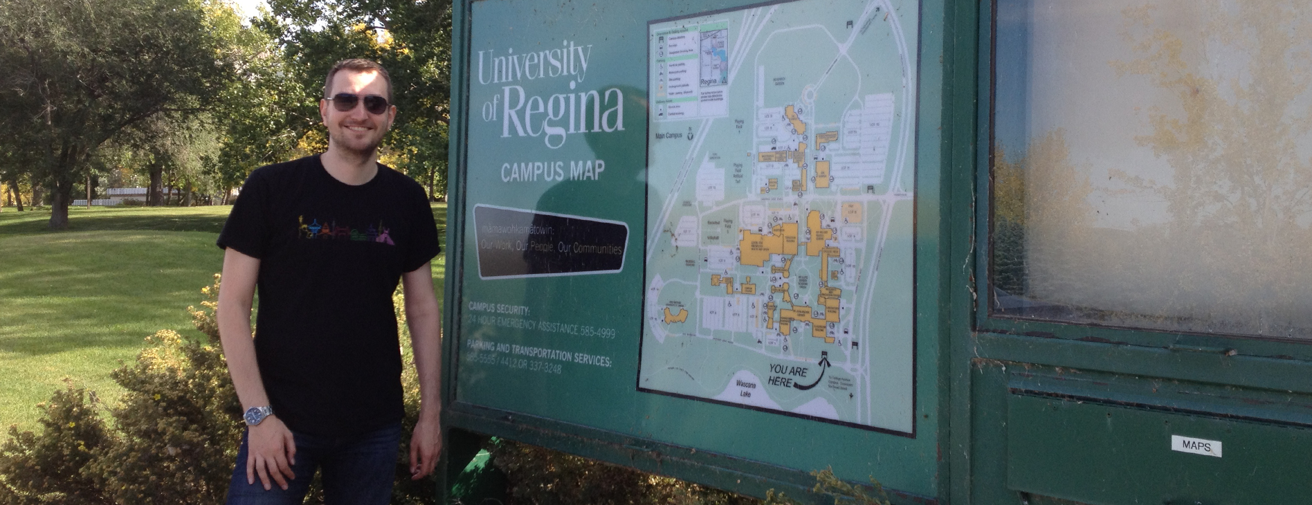 Campus Map University of Regina