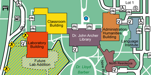 Vorschaubild für Campus Map